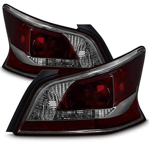 For 13 Nissan Atima 4DOOR 4DR L33 Sedan Smoked Lens Tail Brake Lights Lamp Set L+R ()