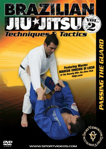 Brazilian Jiu-Jitsu Techniques and Tactics - Vol. 2: Passing the Guard DVD featuring Coach Marcus Vinicius Di Lucia
