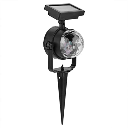 Navidad LED Proyector Luces Lmpermeable Solar Powered Spotlight ...
