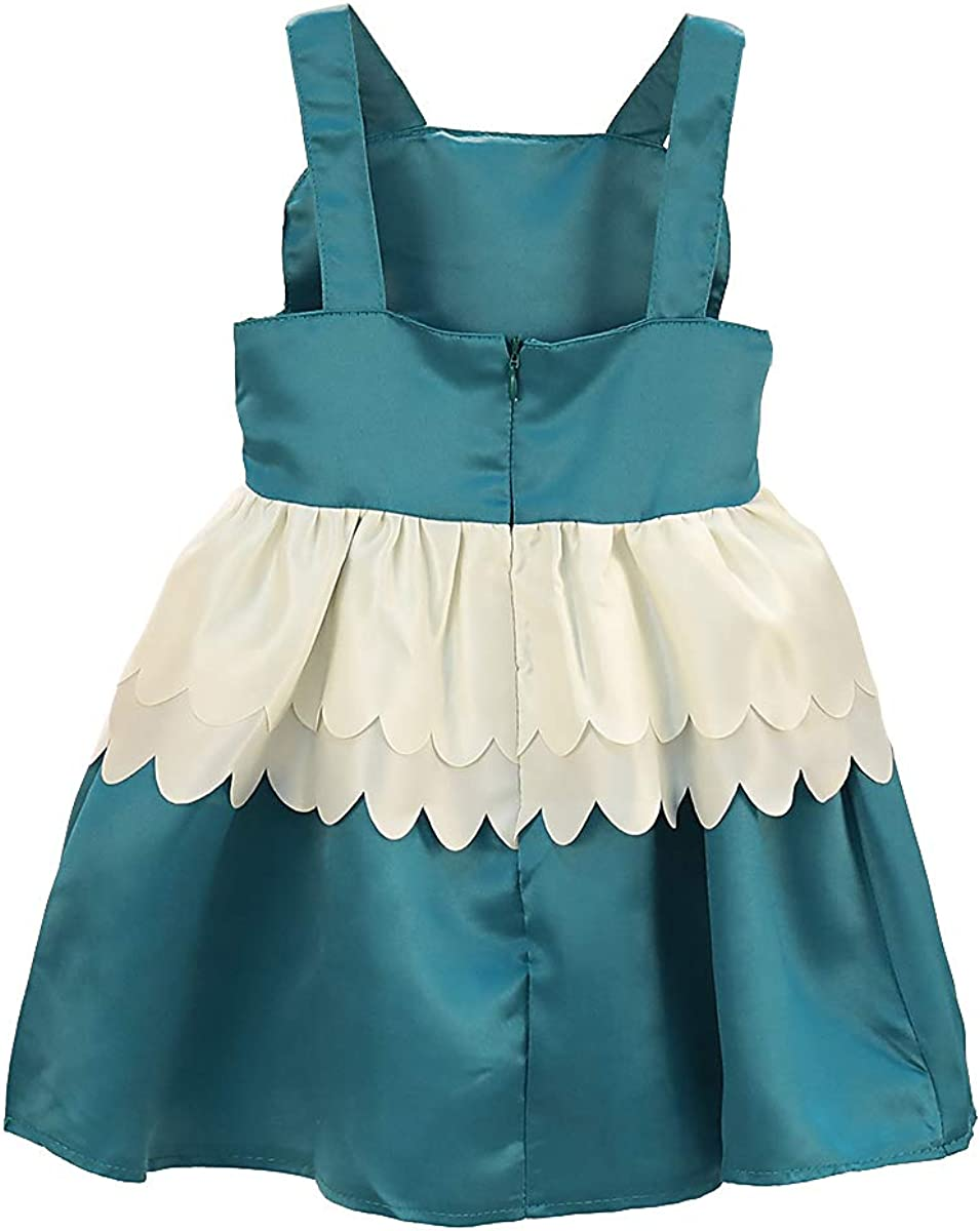 Holiday SOBOWO Toddler Baby Girl Swan Flamingo Princess Dresses Backless Summer Party Dress for Wedding