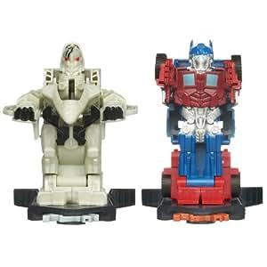 Transformers Dark Of The Moon Robo Power Bash Bots Autobot Optimus Prime Vs. Deception Starscream