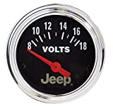 Auto Meter 880242 Jeep Electric Voltmeter Gauge