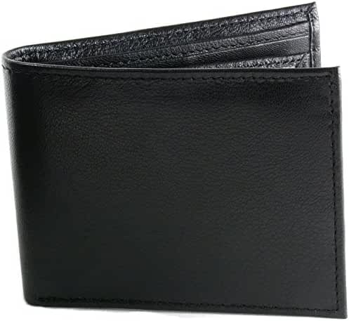 Hammer Anvil Men's RFID Blocking Multi-Card Compact Center Flip Bifold Wallet