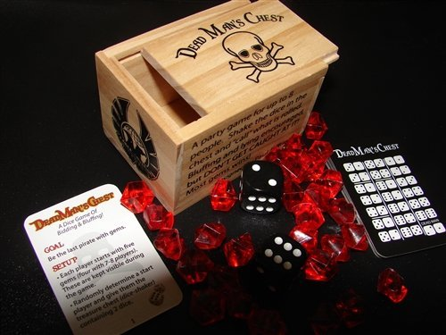 Eagle-Gryphon Games EAG01530 Dead Man's Chest Deluxe Board -