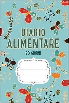 DIARIO ALIMENTARE 90 Giorni: Agenda perdita di peso e attività giornaliere (Blu)