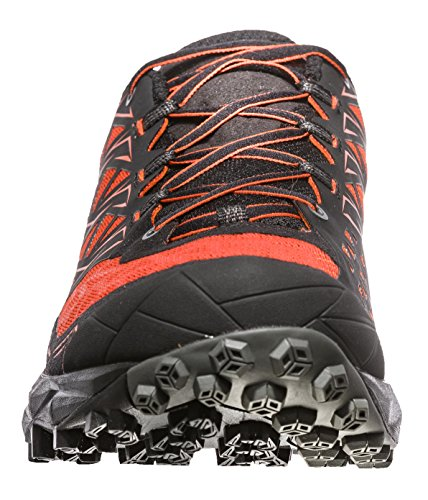La Sportiva Men's Akyra Trail Running Shoes, Blue, 13.5 Arancione
