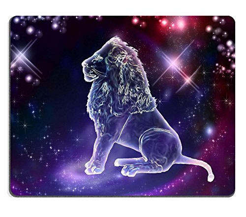 MSD Mousepad Lion is of animals The constellation of Leo is a sign of the leaders A strong spirit strong body strong will Image 20428908 Customized Tablemats Stain Resistance Co