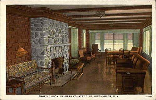 Smoking Room Kalurah Country Club Binghamton New York Ny
