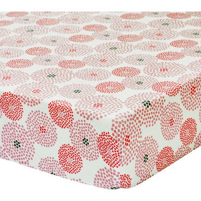 Chloe Jersey Fitted Crib Sheet