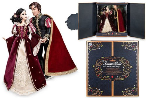 Official Snow White and Prince Charming Platinum Edition Doll Set (Disney Store Exclusive)