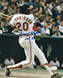 Autographed Frank Robinson 8x10 Baltimore Orioles Photo JSA