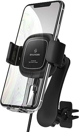 Sinjimoru Handyhalterung Auto Fast Wireless Charger Elektronik