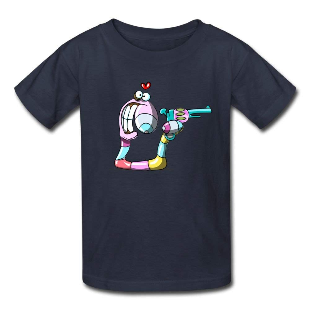 Short-Sleeve Shirt Earthworm Love Pistol Birthday Day Baby Girl Toddler