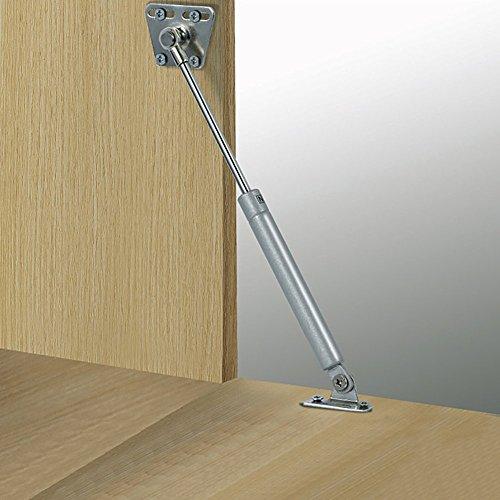 douper 100N/22lb Gas Spring Hinge Slow Down Drop Leaf of Cabinets Desks Slowly Open Drop Leaf Pack of 2 by douper