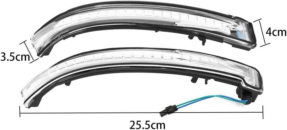 J11 Murano Z52 Juke Navara NP300 Pathfinder Indicateurs de clignotants dynamiques /à DEL lat/éraux pour N-issan Q-ashqai X-Trail T32 fum/é