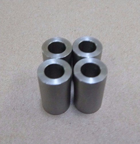 1/4 ID x 1/2 OD x 5/8 TALL STAINLESS STEEL 303 STANDOFF SPACER SPACERS BUSHINGS (4pc.)
