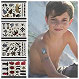 Twink Designs Temporary Tattoos for Boys and