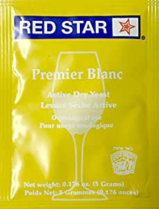 Red Star Premier Blanc Yeast, 5g - 5-Pack