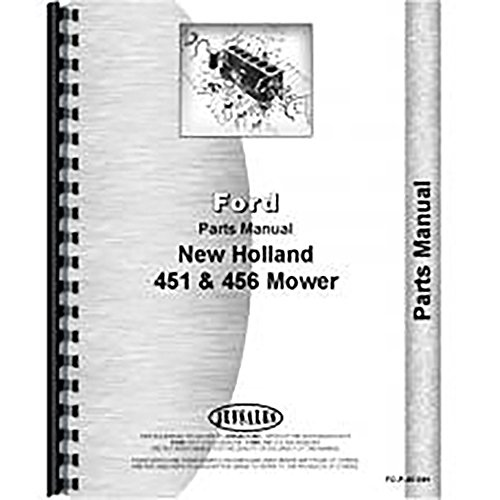New Holland 451 456 Mower Parts Manual Amazon Industrial