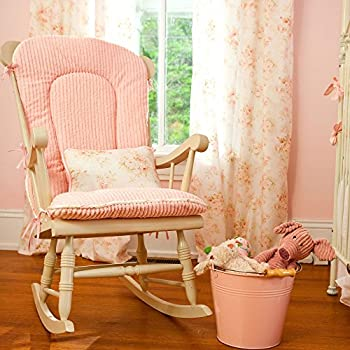 Charmant Carousel Designs Shabby Chenille Rocking Chair Pad