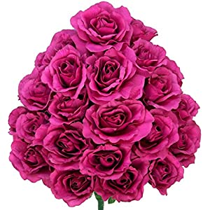 Admired by Nature Artificial Blooming Rose Flowers 15
