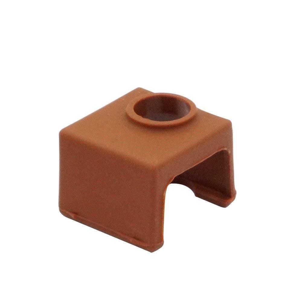 Tapa de silicona para impresora 3D MK10 Hotend para impresora 3D ...