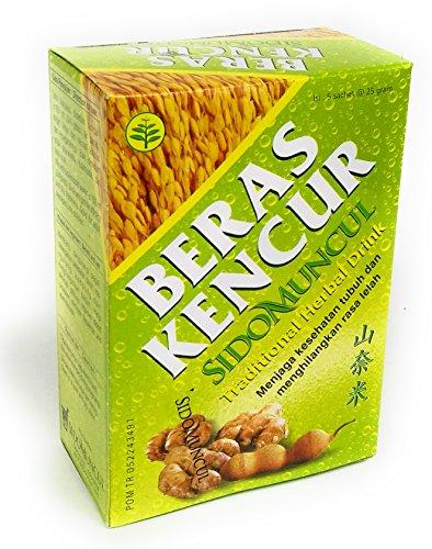 Sido Muncul Beras Kencur Herbal Drink, 1 Pack (5 sachet @25gr)