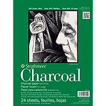 "Strathmore Hemp Charcoal Paper Pad 400 Series 6"" x 18"""