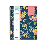 Day Designer for Blue Sky 2019-2020 Academic Year Weekly & Monthly Planner, Flexible Cover, Twin-Wire Binding, 8.5' x 11', Peyton Navy