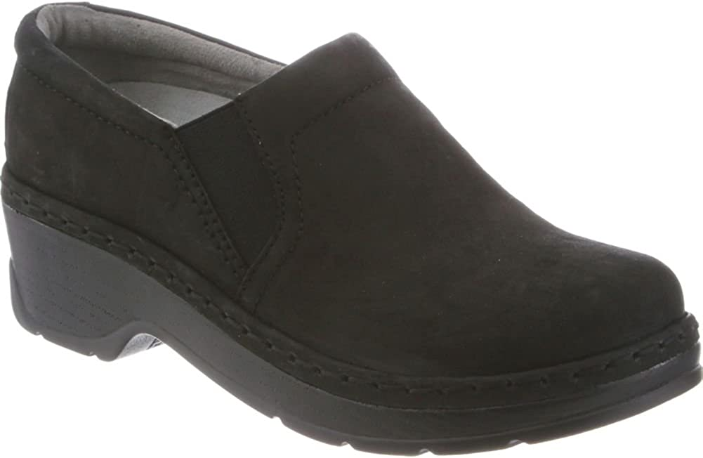 Klogs Nashua Men's Leather Supportive Clog Black Oil - 8.5 Medium