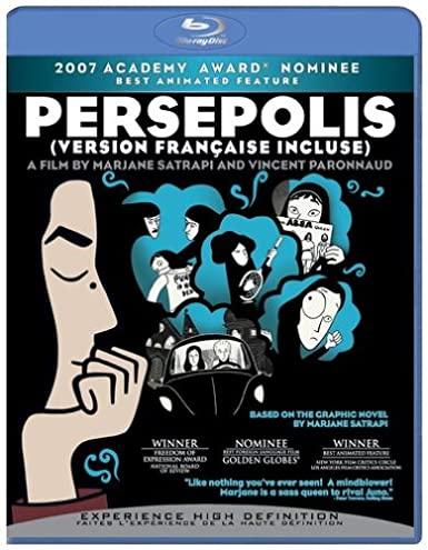 Amazon Com Persepolis Blu Ray Blu Ray 2008 Blu Ray Movies Tv