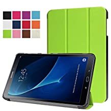 Protection Housse pour Samsung Galaxy Tab A SM-T580 SM-T585 10.1 Pouce Smart Slim Case Book Cover Stand Flip (Vert) NEUF