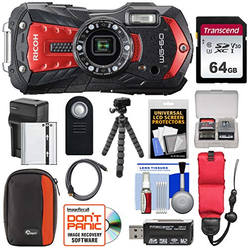 Ricoh WG-60 Waterproof/Shockproo...
