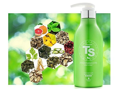 Premium TS Hair Loss Prevention Shampoo 16.9 Ounce, Made in Korea by TS Shampoo