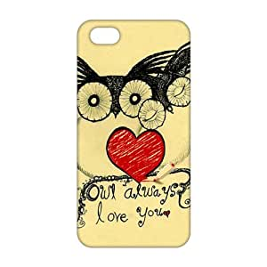 Cartoon lovely owl 3D Phone Case For Htc One M9 Cover