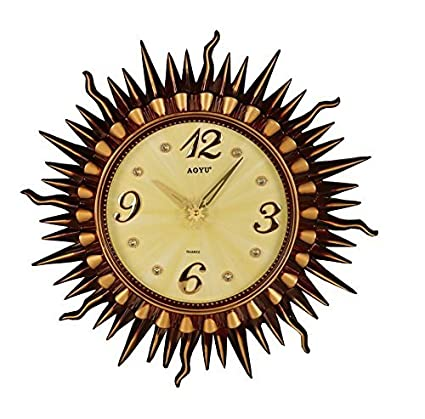Buy Avighna\'s wall clock for home office decor showpiece showpieces ...