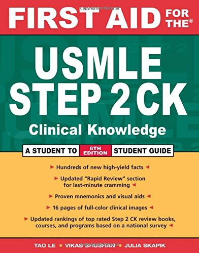 MLE Step 2 CK (First Aid USMLE) ()