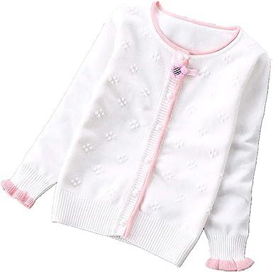 Girls Sweaters Fashion Cardigans Girls Cardigans Sweaters Children's  Clothing Baby Girl Coat Sweater Knitwear White: Amazon.co.uk: Clothing