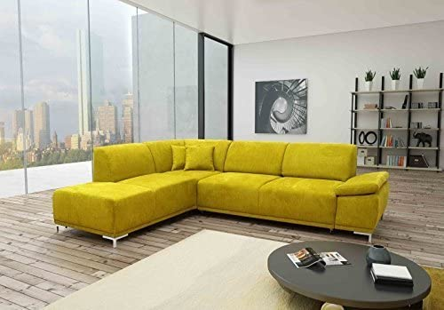 D-Collection Cama con somier de Esquina/Dormir sofá Bonn L ...
