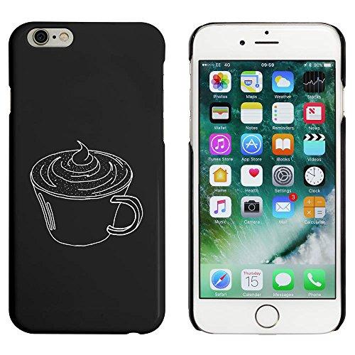Noir 'Chocolat Chaud' étui / housse pour iPhone 6 & 6s (MC00041313)