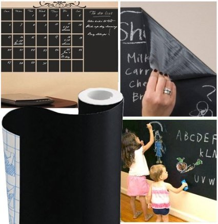 YOPO Sticky Back Chalkboard Contact Paper for H...