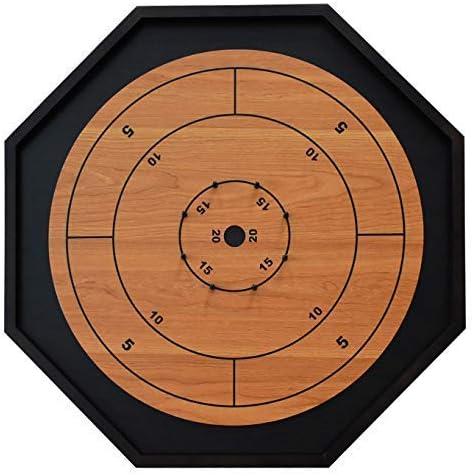 [해외]The Crokinole King - Traditional Size Crokinole Board Game Set / The Crokinole King - Traditional Size Crokinole Board Game Set