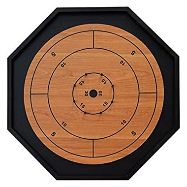 The Crokinole King - Traditional Size Crokinole Board Game Set