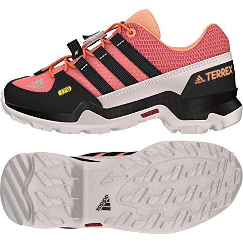 Adidas Terrex K, Bottes de Randonnée Mixte Enfant, Rose (Rostac/Negbas/Narsen), 38 EU