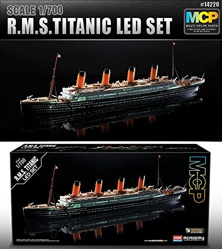 1/700 R.M.S.TITANIC LED SET #14220 MULTI COLOR PARTS by Academy Models