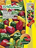 Seeds PACAKGE ONLY NOT Plants: Chilli 'Habanero Mix' - Capsicum Chinense, Ca Seeds, Extremely Spicy,