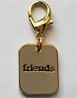 product image for Diva-Dog 'Friends' Dog Collar Charm