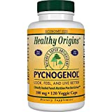 HEALTHY ORIGINS PYCNOGENOL VEG CAPS,100MG, 120 VCAP