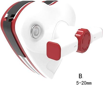 Ajustable magnética limpiaparabrisas Artefacto, de doble cara Limpiador de cristal, hueco magnético fuerte RASCACRISTALES para ventanas, vidrios, espejos, parabrisas (Color : Class b 5-20mm) : Amazon.es: Hogar