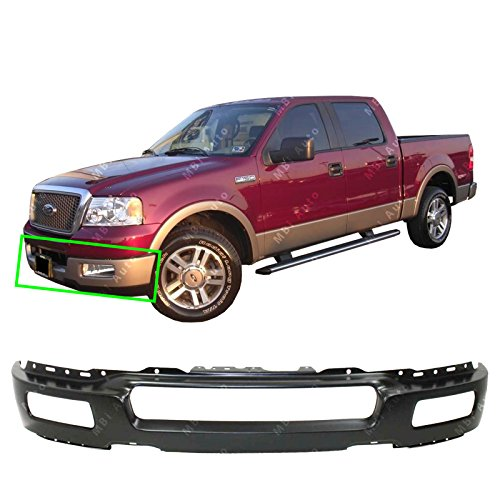 2005 Ford F150 Bumper - MBI AUTO - Primered, Steel Front Bumper Face Bar Fascia for 2004 2005 2006 Ford F150 Light Duty Pickup 04-06, FO1002391